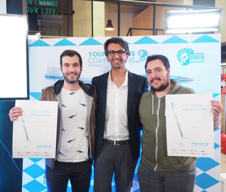 Parabéns leões! Os nossos criativos em Cannes
