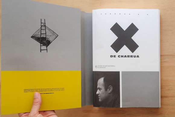 X de Charrua, a exposição acabou, o catálogo fica