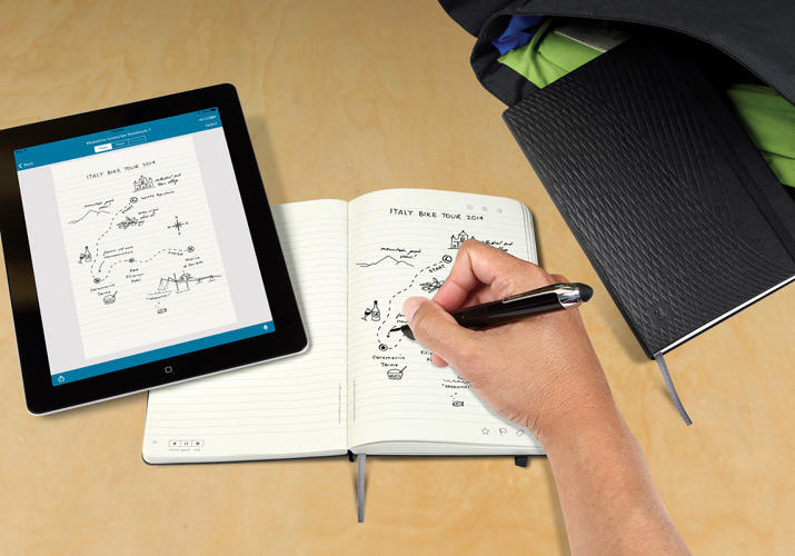 Moleskine e iPad, do papel à app