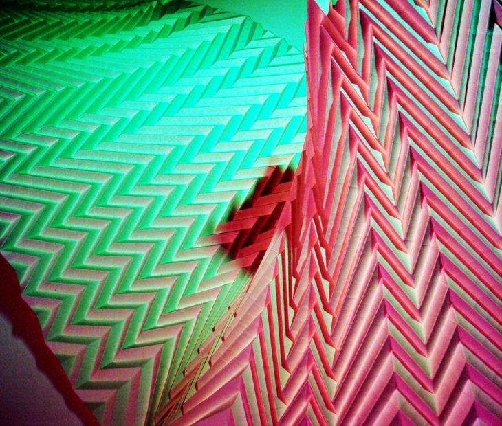 Yoshi e a geometria orgânica do papel