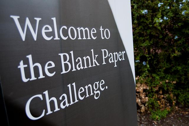 E assim foi o The Blank Paper Event Barcelona