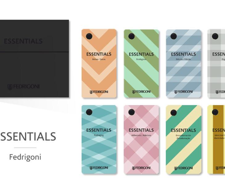 'Essentials', um novo catálogo da Fedrigoni que lhe permitirá encontrar aquele papel tão especial que dará ao seu projeto o toque de que necessita