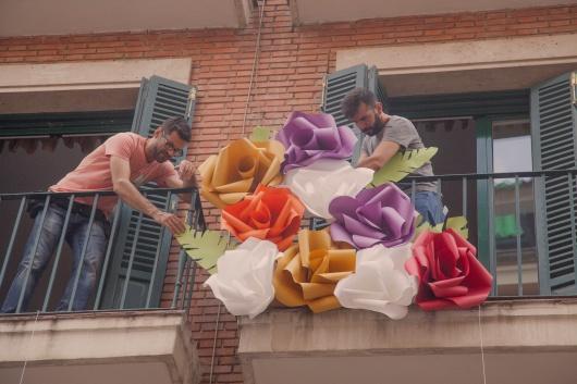 Um jardim de Good Paper cresce numa fachada de Madrid
