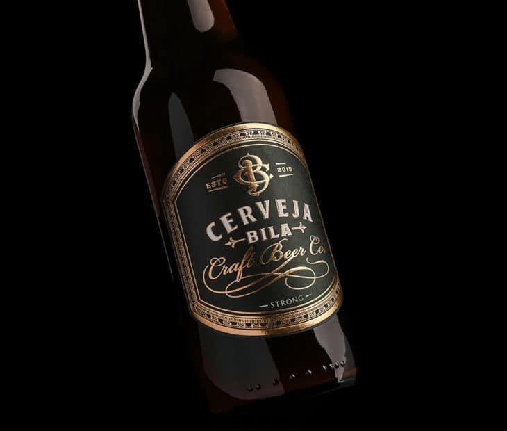 Bila – uma cerveja artesanal com rótulo premium