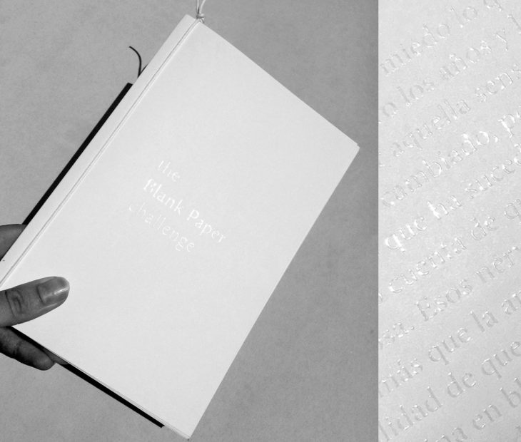 Participe e ganhe um caderno exclusivo Blank Paper Challenge