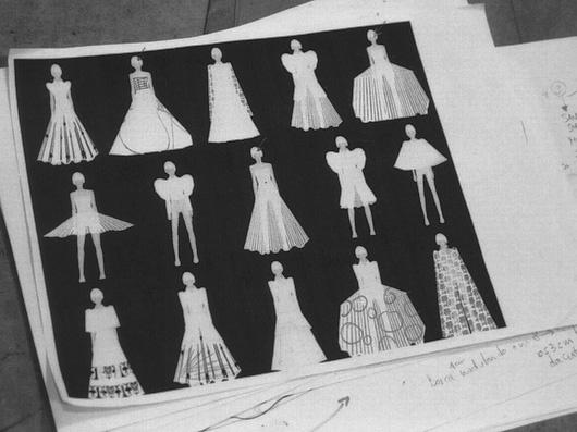 Quando a Fashion Week conheceu a Paper Couture