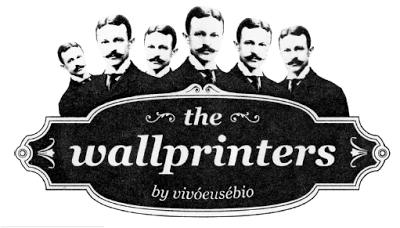 The Wallprinters, do papel à parede