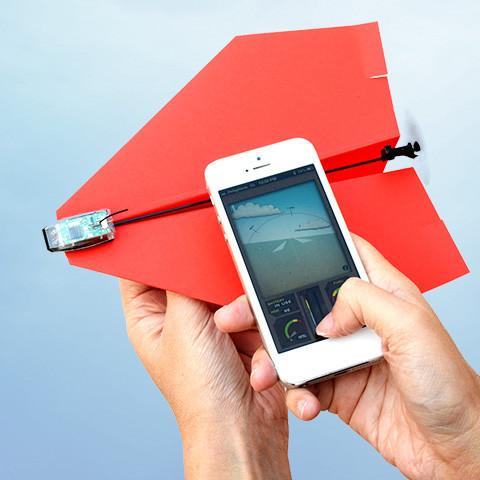 Quer fazer voar um avião de papel?