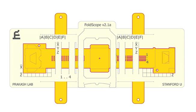 Graças à técnica do Origami é possível construir um microscópio