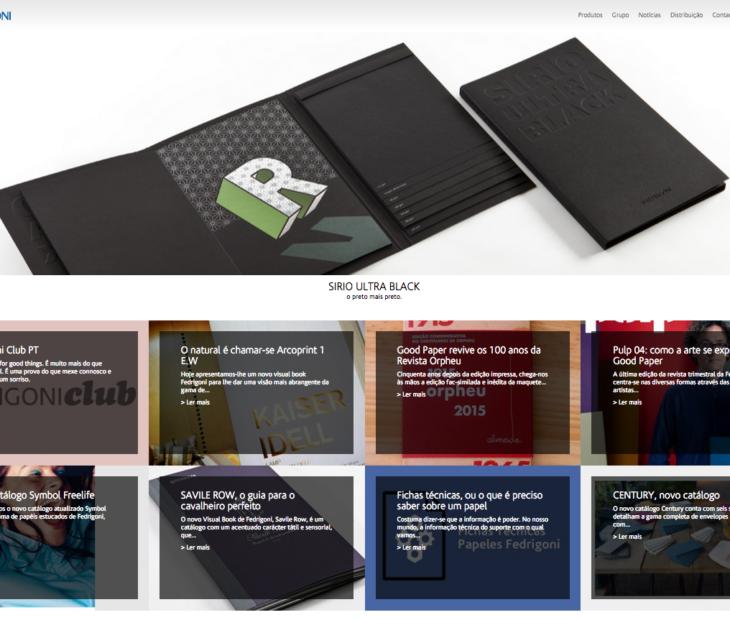 Fedrigoni.pt estreia um novo website corporativo SOOO GOOD