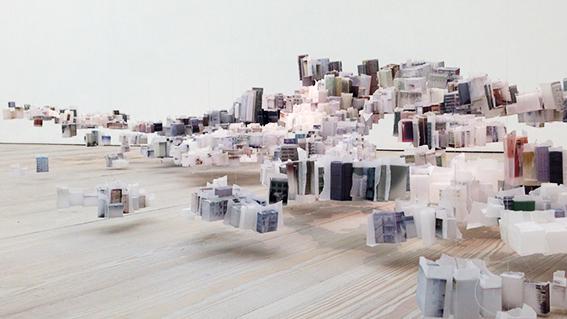 Uma cidade flutuante de papel?