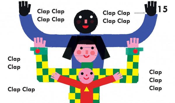 Clap clap, palmas para o livro interactivo sem pilhas