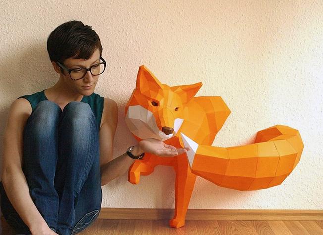 O mundo animal da PaperWolf