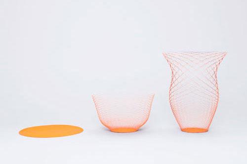 A flexibilidade do papel permite obter formas em volume