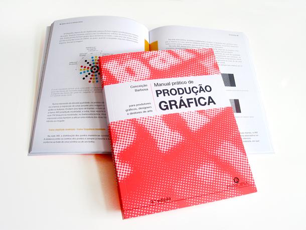 'Manual Prático de produção gráfica', de Conceição Barbosa, editado em X-Per Fedrigoni