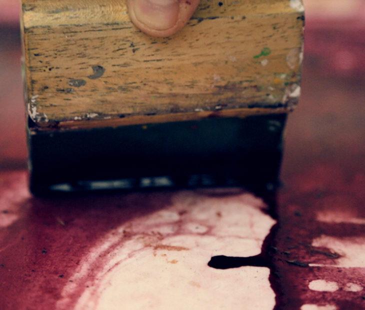 Como fazer tinta a partir de vinho?