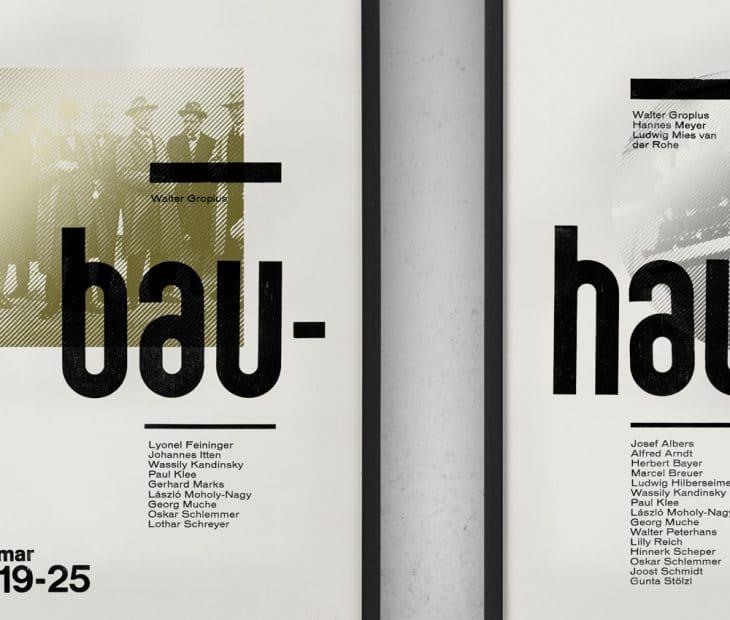 Um tributo à Bauhaus