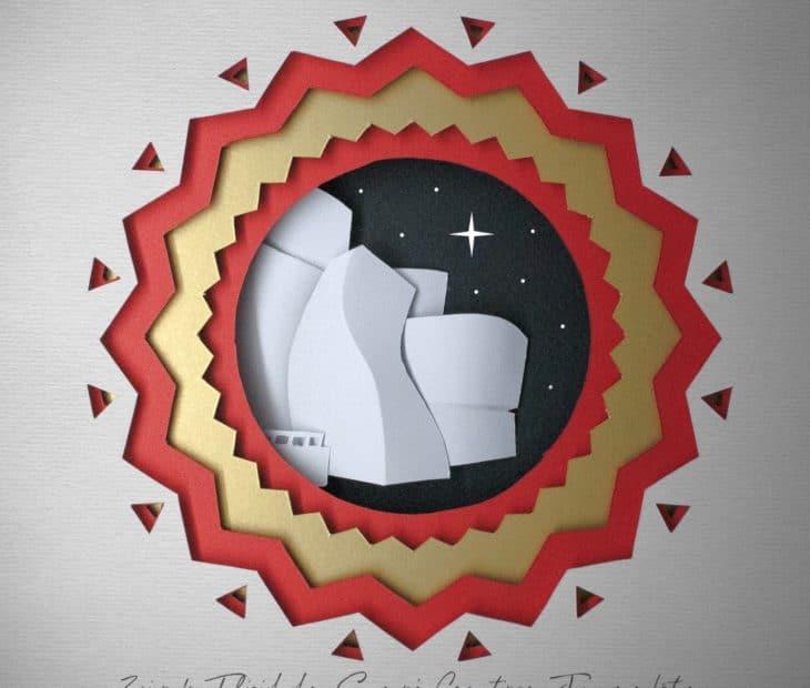 O Guggenheim, o Natal e um festival de papel