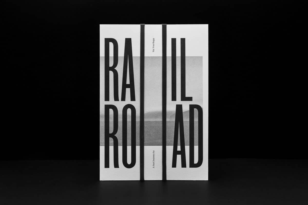 'RailRoad', um livro com cheiro a mar, ondas e surf