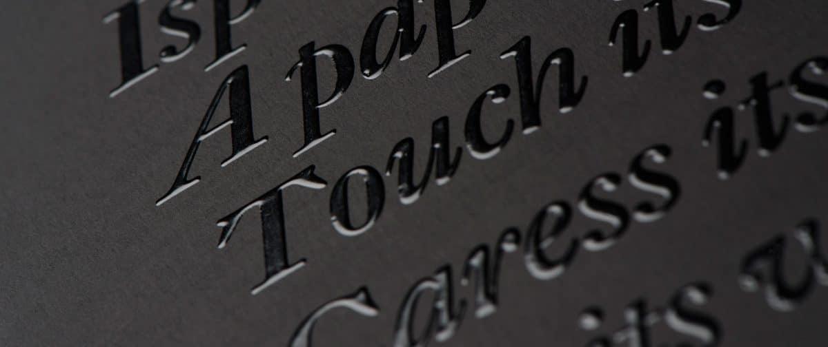 Como obter um efeito Premium com as técnicas de impressão e acabamentos